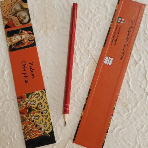 gadget matita e segnalibro